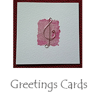 Hand made gift cards